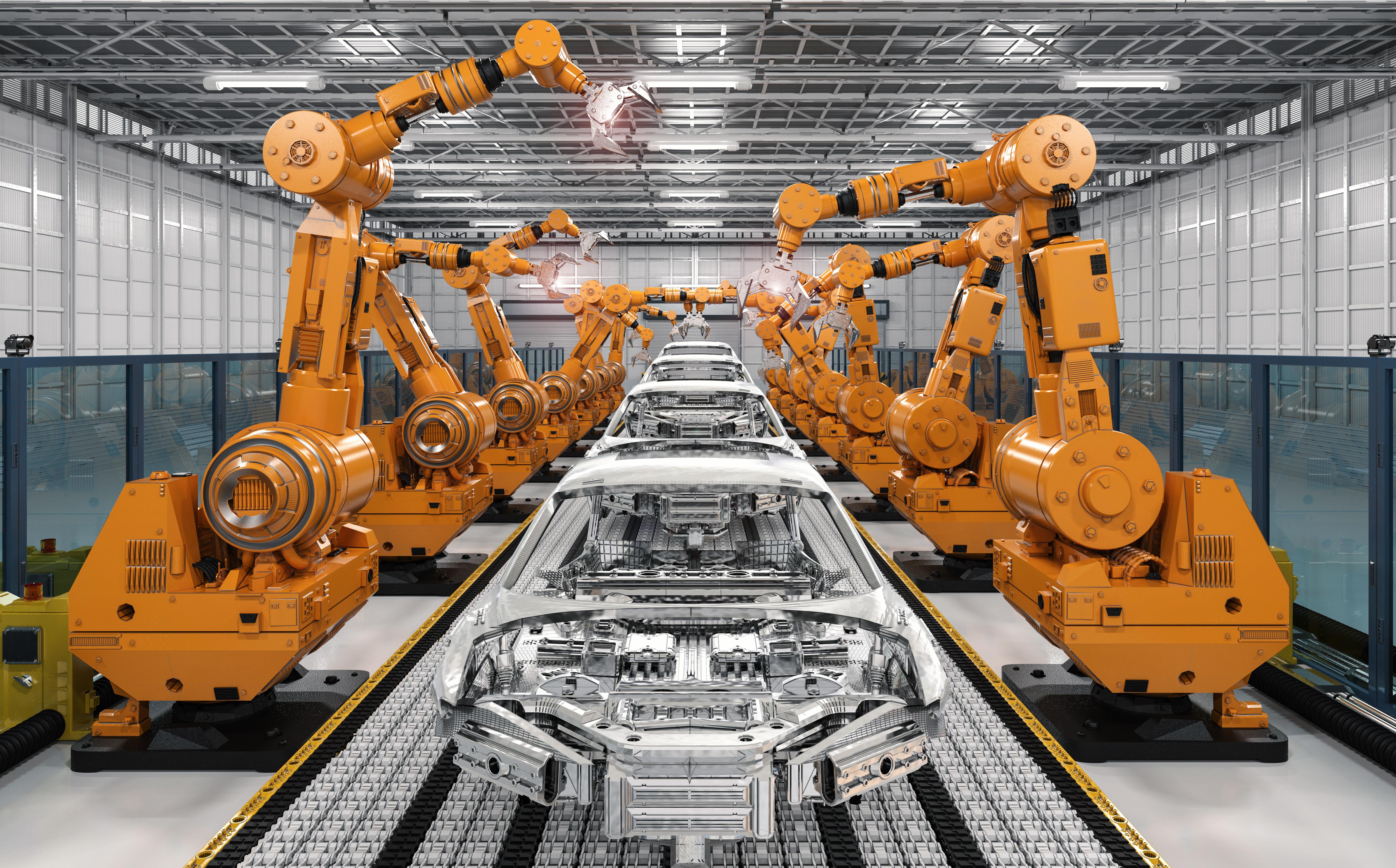 ERP-Lösung Automobilindustrie